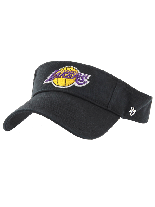 Los Angeles Lakers Clean Up Visor