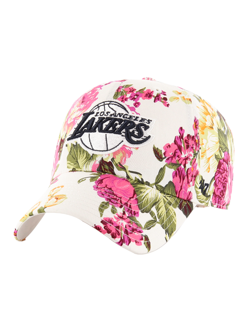 Los Angeles Lakers Rosalynn Floral Clean Up Adjustable Cap