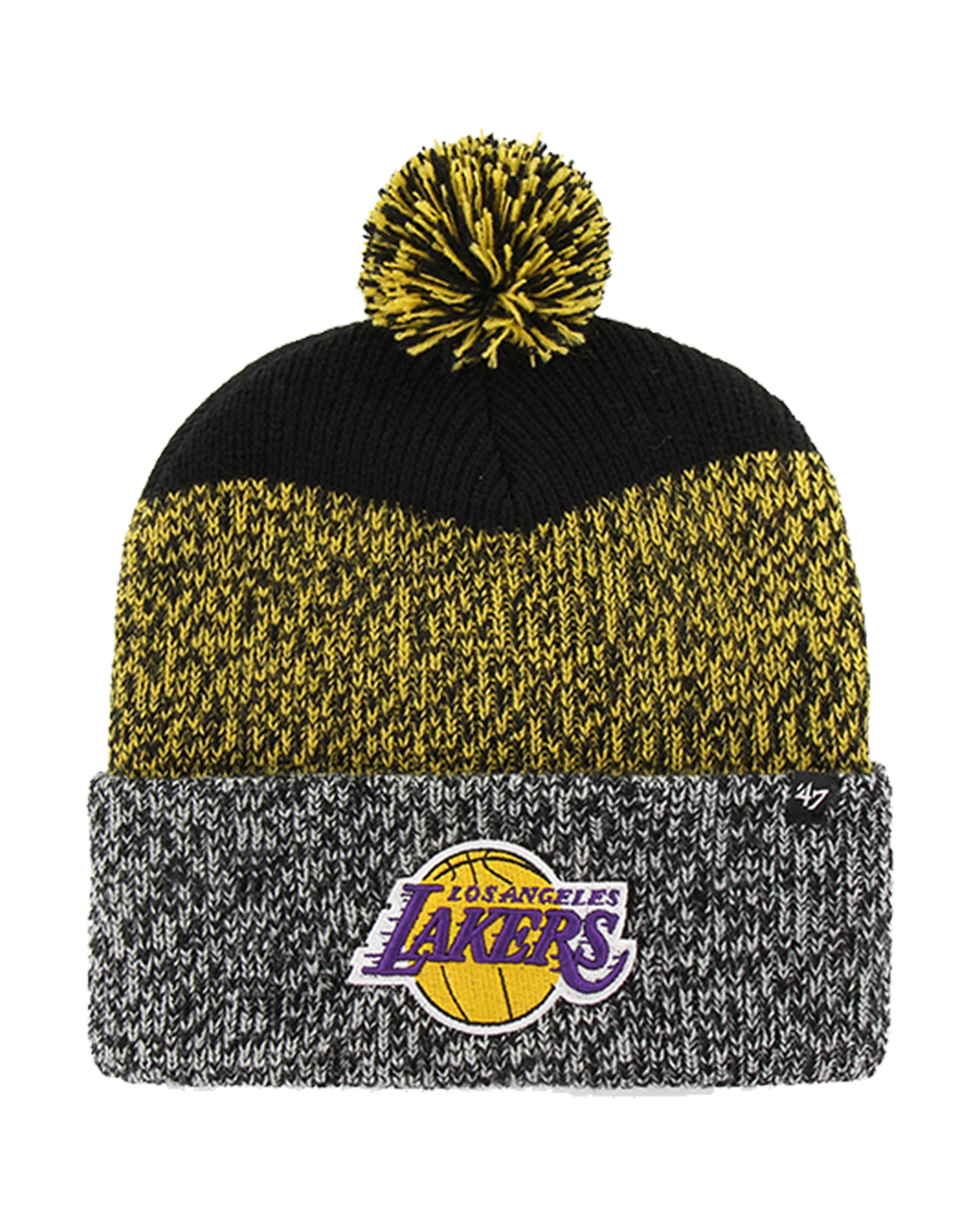 Los Angeles Lakers Static Knit Hat