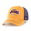 Los Angeles Lakers 9TWENTY Black Label Tweed Badge Adjustable Cap