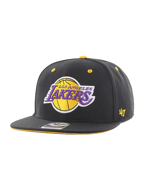 Los Angeles Lakers Youth Vow Adjustable Snapback Captain Cap