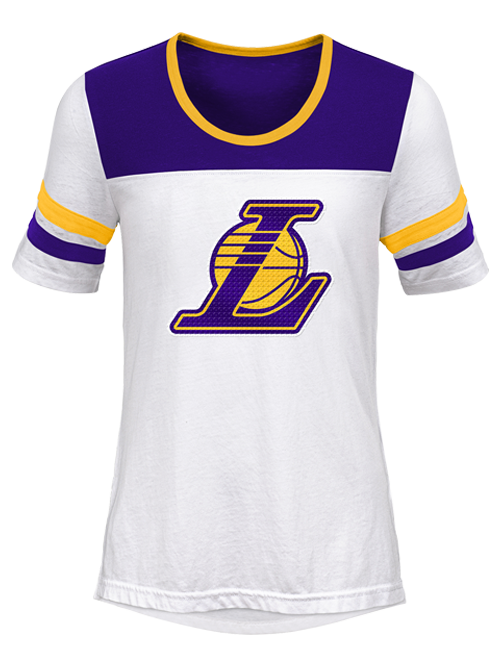 Los Angeles Lakers Youth Girls Point Guard T-Shirt