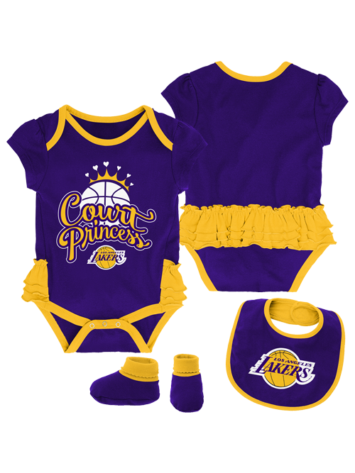 Los Angeles Lakers Newborn Mini Trifecta Set