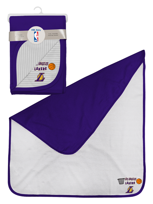 Los Angeles Lakers Newborn Little Rebounder Blanket