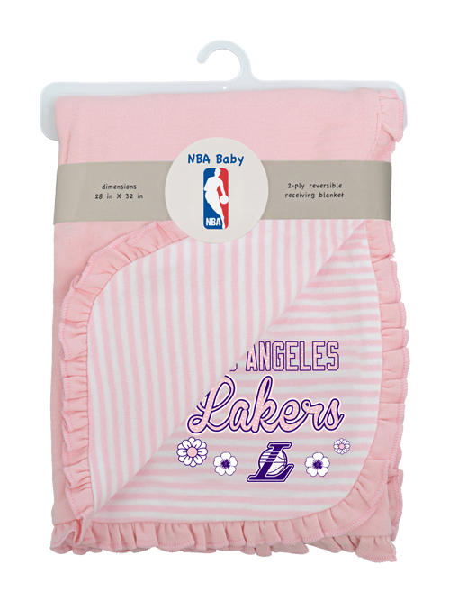 Los Angeles Lakers Newborn Sweet Fan Blanket