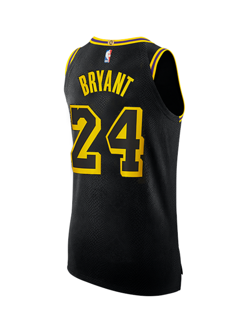 Los Angeles Lakers Kobe Bryant #24 City Edition Authentic Jersey
