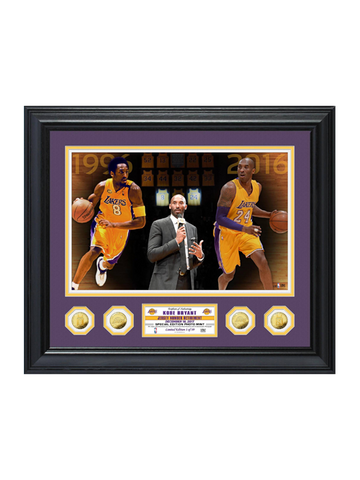 Los Angeles Lakers Kobe Bryant Limited Edition Photo Frame