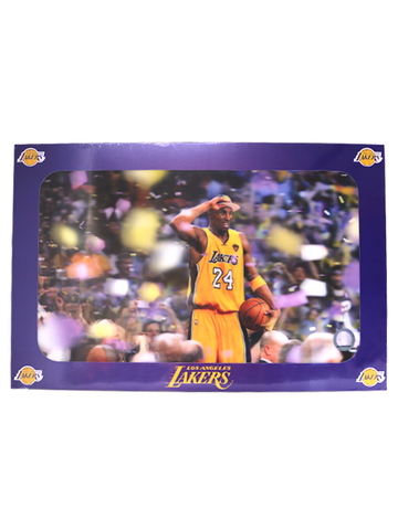 Los Angeles Lakers Kobe Bryant 3D '09-'10 Champ Image