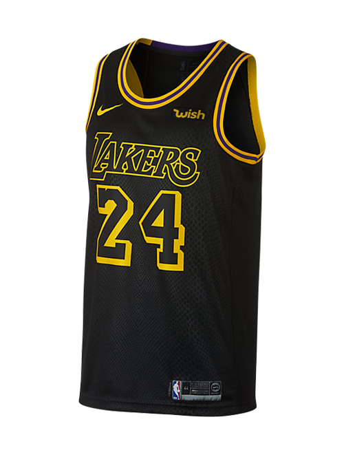 Los Angeles Lakers Kobe Bryant  24 City Edition Swingman Jersey ... d79a5c237