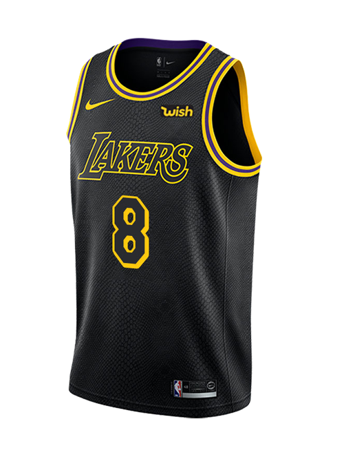 567815f255d Los Angeles Lakers Kobe Bryant  8 City Edition Swingman Jersey – Lakers  Store