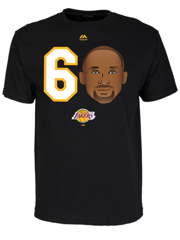 Los Angeles Lakers Nick Young Home Player T-Shirt