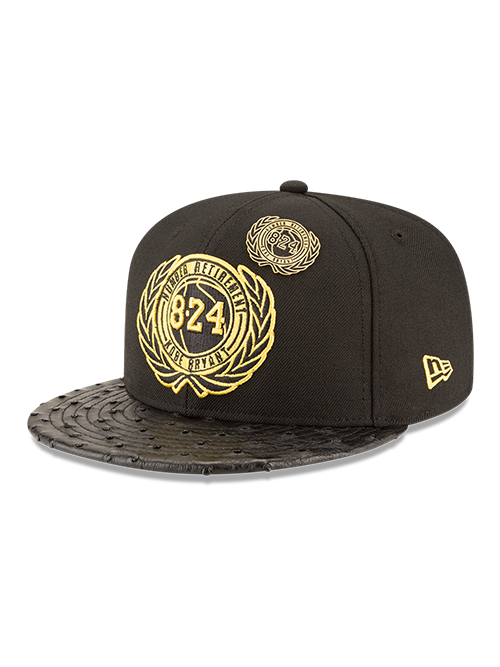 new concept 867d5 eb1ac Kobe Bryant Exclusive Limited Edition 9FIFTY Retirement Snapback Cap