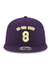 Kobe Bryant 9FIFTY 8 All-Star Purple Snapback Cap