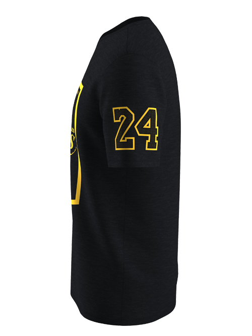 Kobe Bryant Lakers Banner With Sleeve T-Shirt