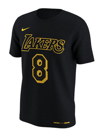 Los Angeles Lakers Women's City Edition Black Team T-shirt