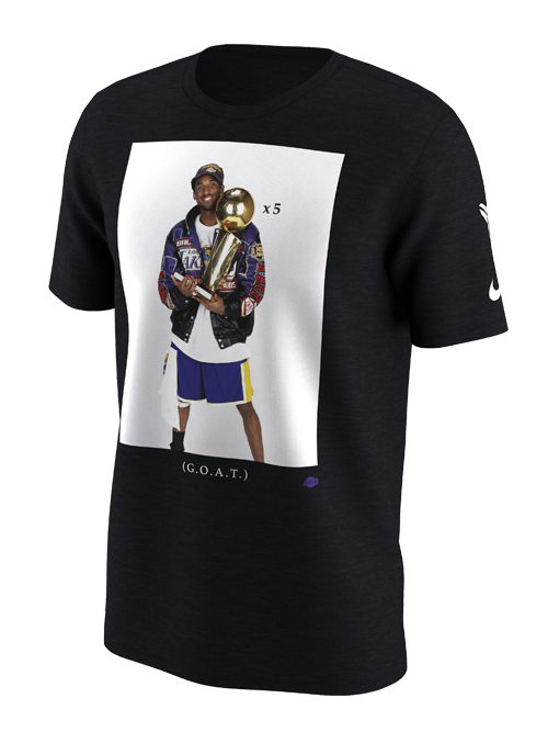 Kobe Bryant Trophy Photo T-Shirt