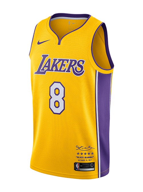 Kobe Bryant Limited Edition Retirement #8 Jersey
