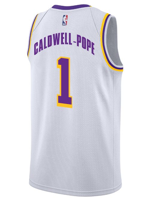 0ce265e4d ... Los Angeles Lakers Kentavious Caldwell-Pope 2018-19 Association Edition  Swingman Jersey
