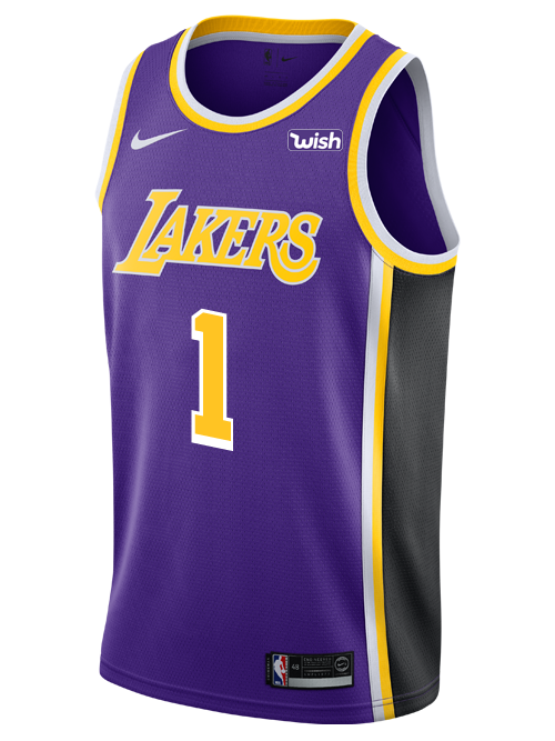 373d33bee Los Angeles Lakers Kentavious Caldwell-Pope 2018-19 Statement Edition  Swingman Jersey