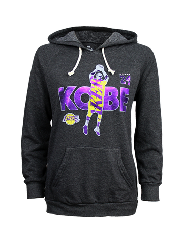 Los Angeles Lakers Kobe Bryant Women's Jumper Foil Hood