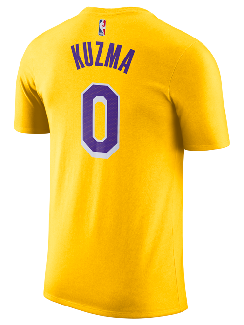 Los Angeles Lakers Kyle Kuzma Icon Edition Player T-Shirt – Lakers Store 01eca3275