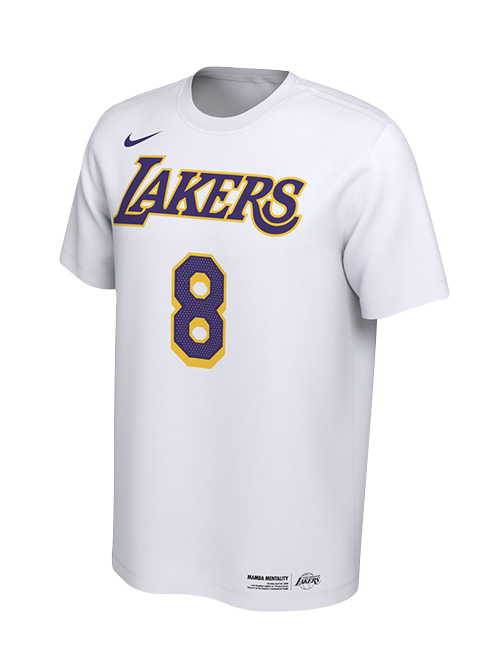 Los Angeles Lakers Kobe Bryant Mamba Day Player T-Shirt