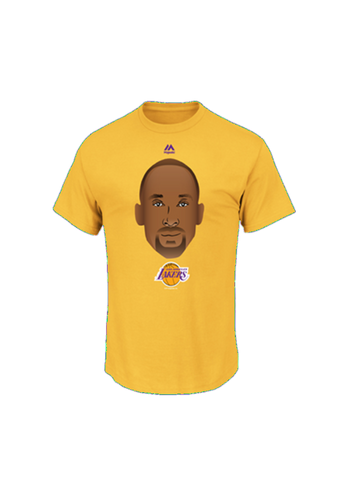 Los Angeles Lakers Kobe Bryant Youth Emoji Short Sleeve T-Shirt