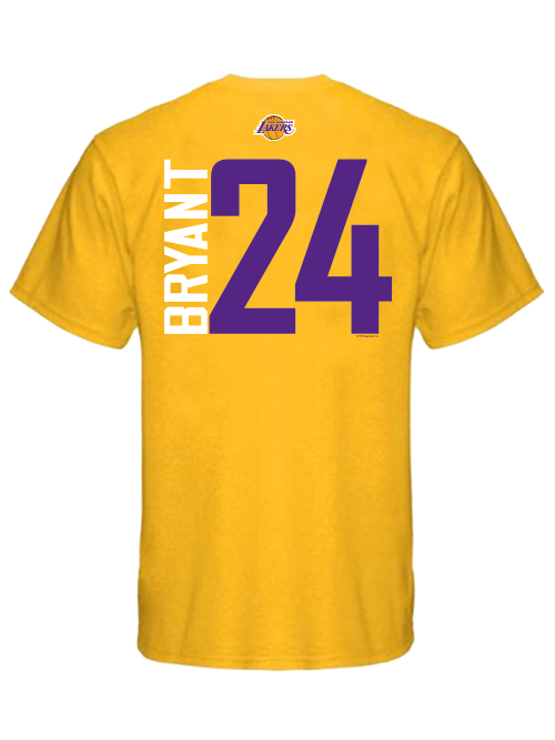 Los Angeles Lakers Kobe Bryant Player T-Shirt