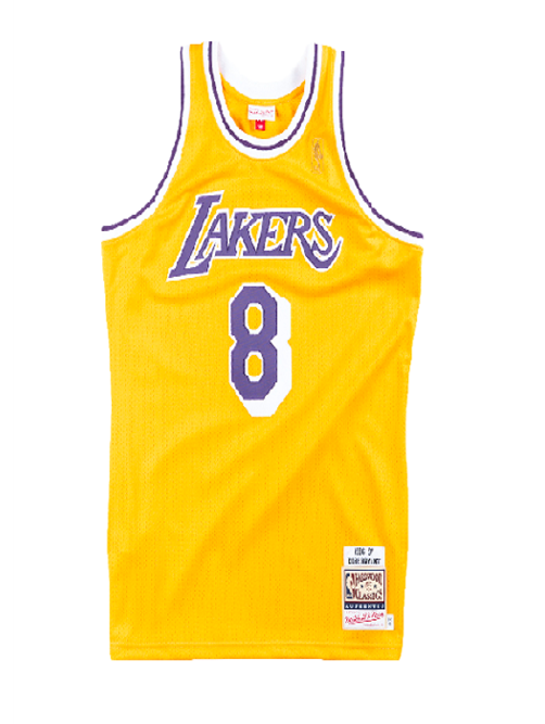 Los Angeles Lakers Kobe Bryant 1996-97 Authentic Jersey – Lakers Store