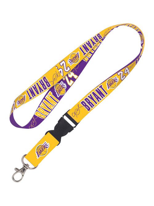 Los Angeles Lakers Kobe Bryant Action Lanyard