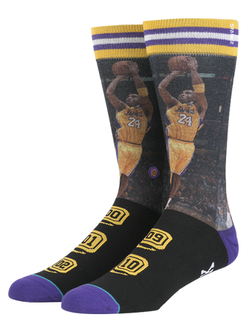 Los Angeles Lakers Kobe Bryant Championship Socks