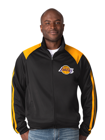 Los Angeles Lakers Regulation Quarter Zip - Purple