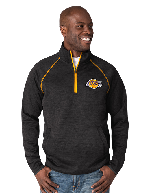 Los Angeles Lakers Transitional Half-Zip Pullover