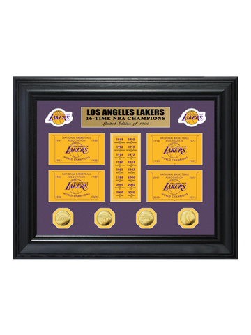 Los Angeles Lakers Limited Edition Kobe Bryant Final Season 24-Karat Gold Medallion