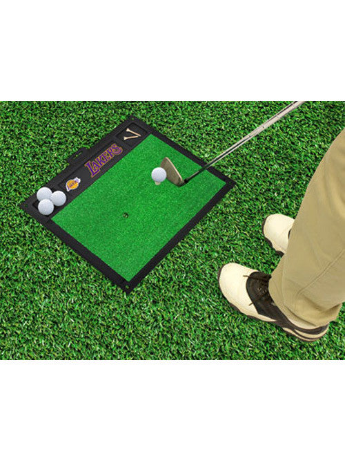 Los Angeles Lakers Golf Hitting Mat
