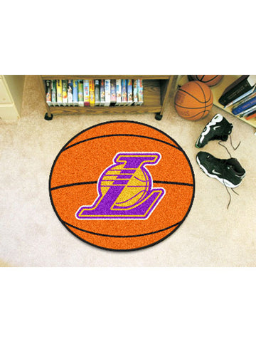 Los Angeles Lakers Round Ball Mat