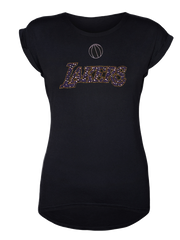 Los Angeles Lakers Women's Center Chest With Stones T-Shirt
