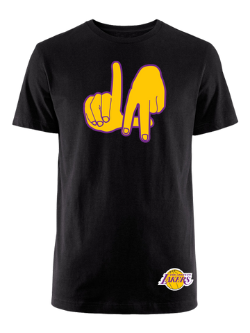 Los Angeles Lakers LA Emoji Hands T-Shirt