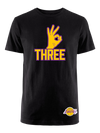 Los Angeles Lakers Swoosh Secondary T-Shirt - Purple
