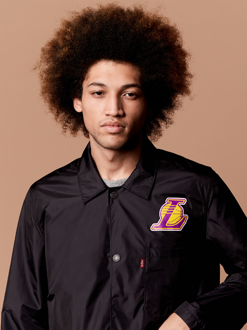 Los Angeles Lakers Club Coat