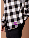Los Angeles Lakers Buffalo Western Button Up