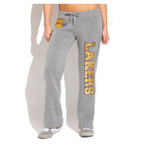 Los Angeles Lakers On Court Pants - Black