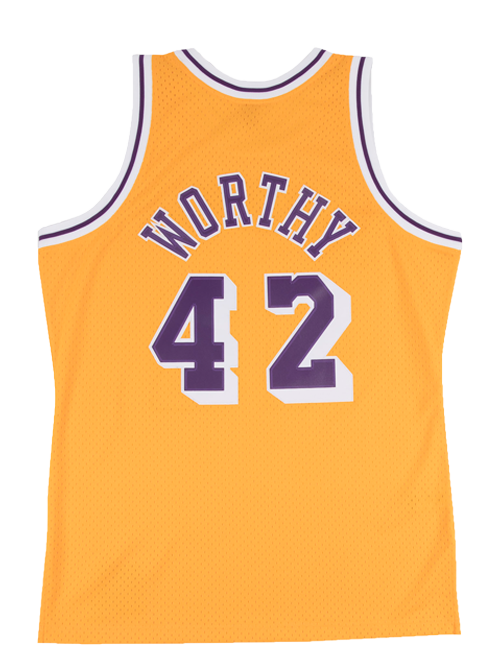 Los Angeles Lakers James Worthy Swingman Jersey