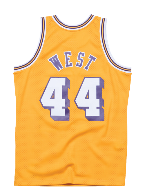 Los Angeles Lakers Jerry West Swingman Jersey - Gold