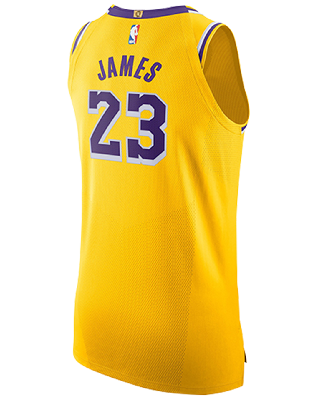 Los Angeles Lakers LeBron James Icon Edition Authentic Jersey ...