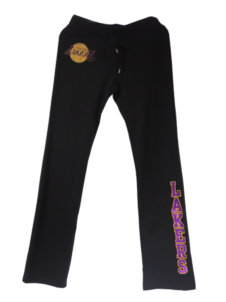 Los Angeles Lakers Women's Full Court Fleece Pants
