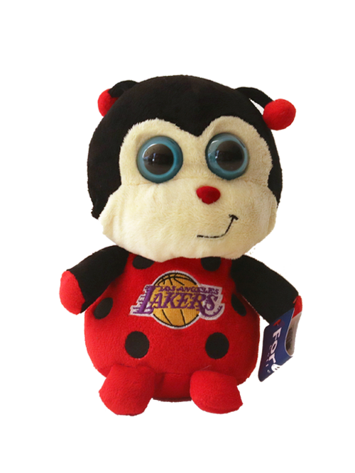 Los Angeles Lakers Big Eye Lady Bug Plush