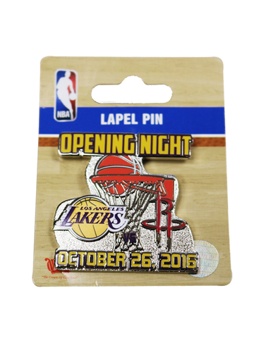 Los Angeles Lakers Opening Night Lapel Pin