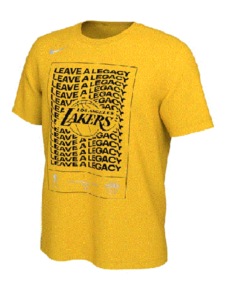 Playoffs Leave A Legacy Mantra Los Angeles Lakers Tee