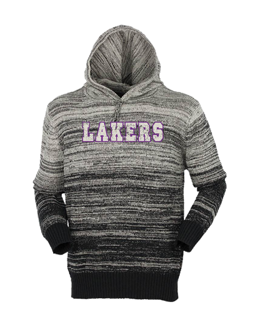 Los Angeles Lakers Gradient Hooded Sweater